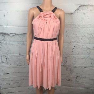 BCBGMAXAZRIA Bianca Soft Petal Dress